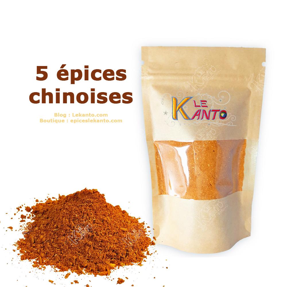 Cinq épices chinoises