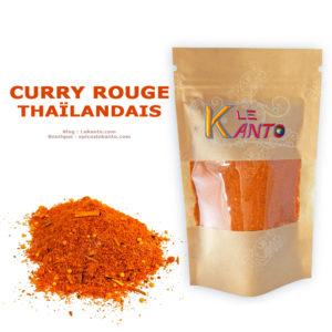 Curry rouge thaïlandais en poudre