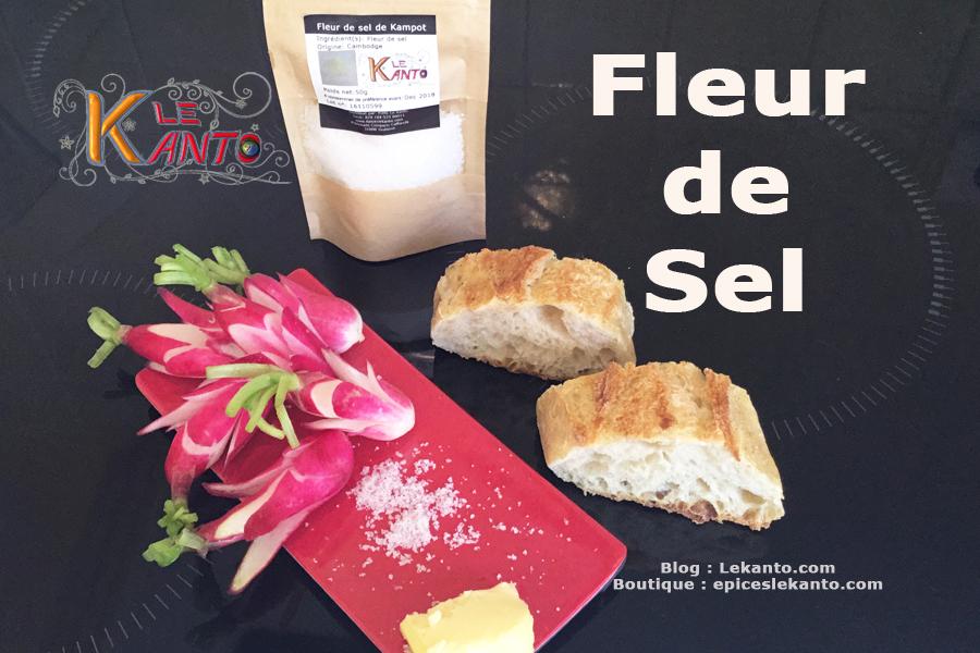 Fleur de sel pour croque en sel