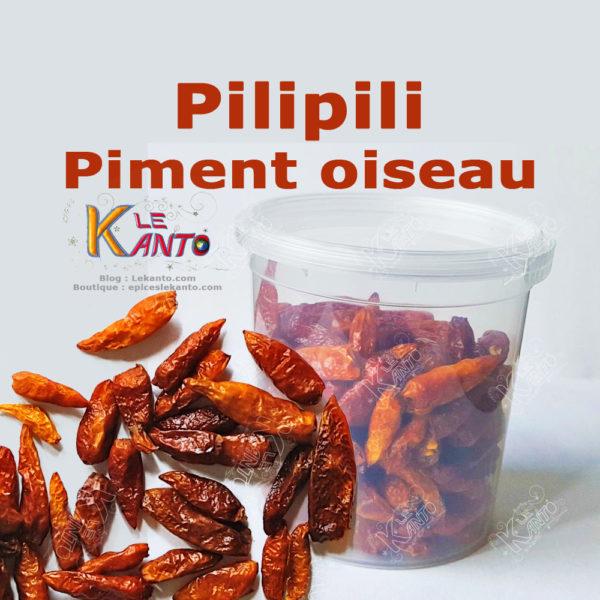 Piment oiseau ou pili-pili