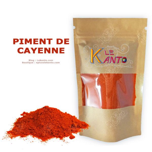 Le piment de Cayenne moulu