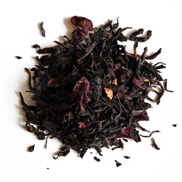 Thé noir à l'Hibiscus