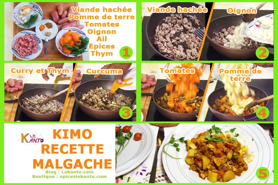 3 épices pour kimo malgache