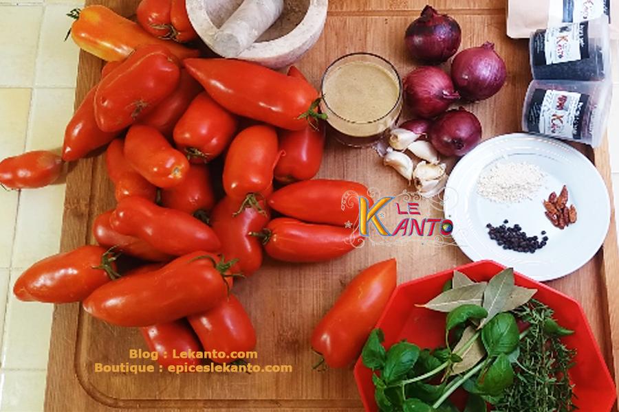 Épices pour sauce tomate